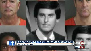 Judge among six people arrested in prostitution operation - Video