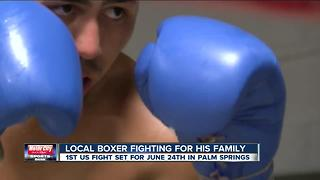 Local boxer Miguel Contreras going from PAL to Palm Springs to keep his family's dream alive - Video