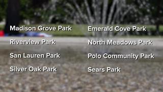 Beat the summer heat by visiting your local spray park
