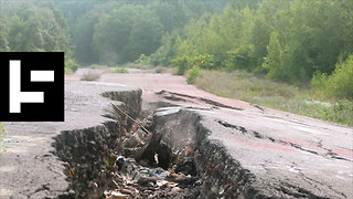 Centralia: America's Town That Won't Stop Burning - Video