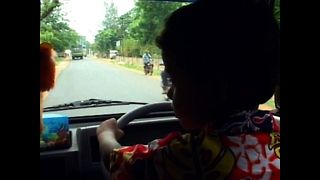A 4-Year-Old Drives Cars Like An Experienced Driver - Video