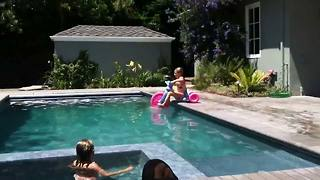 Amazing Kid Pool Fails - Video