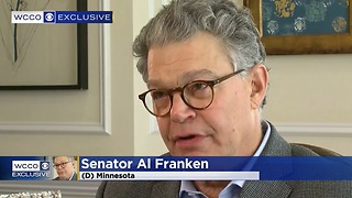 Al Franken: I Am Not Saying I Didn't Grab Women's Butts; I Just Don't Remember - Video