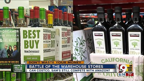 Battle of the warehouse stores