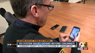 911 systems use obsolete technology, Clermont County diredtor says