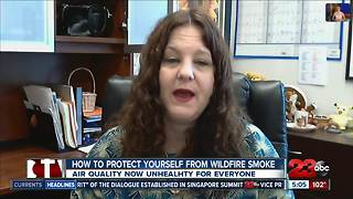 How to protect yourself from harmful wildfire smoke - Video