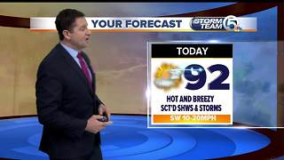 South Florida Monday morning forecast (8/28/17) - Video