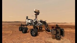 Watch Perseverance Mars Rover Land