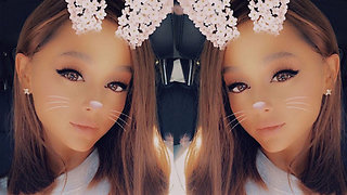 Ariana Grande Cuts Iconic Ponytail