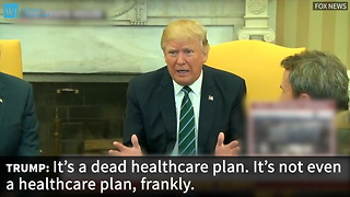 Trump Issues Obituary For Obamacare: 'It's A Dead Healthcare Plan'