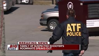 Family of suspect shooter's roommate speaks out - Video