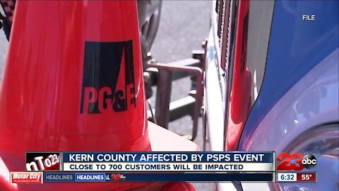Pacific Gas and Electric has announced a potential public safety shutoff event