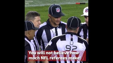 The NFL Referee Salary Is More Than A Doctor's