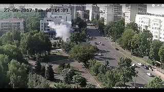 Security Official Killed in Kiev Explosion - Video