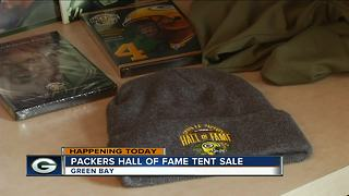 Packers Hall of Fame hosting tent sale at Stadium View - Video
