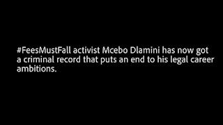 Convicted activist Mcebo Dlamini makes Sisulu paternity claim in court papers (xzX)