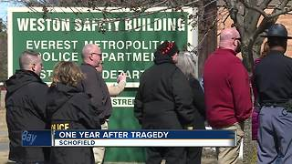 Community remember victims killed in shootings one year ago
