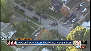 Police search for young Kansas City mother's killer - Video