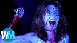 Top 10 Scariest Horror Movie Females - Video