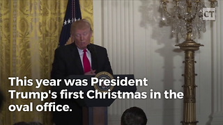 Trump's Message To Military On Christmas Had 1 Major Difference From Obama's Presidency - Video