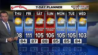 13 First Alert Las Vegas weather for Thursday morning July 5 - Video