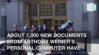 Documents From Wiener's Computer Turned Over As Part Of Clinton Email Lawsuit - Video