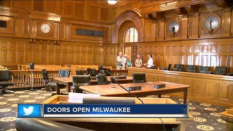 Doors Open Milwaukee allows public to view building for free