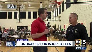 Buckeye community comes together to host fundraiser for injured teen - Video