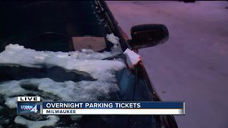 Milwaukee issues more than 8,000 parking tickets during snow removal over the weekend - Video