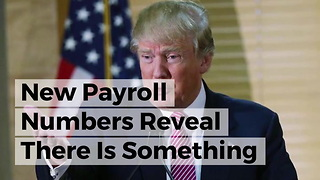 New Payroll Numbers Reveal There Is Something Really Special Going On In Trump's First Year - Video