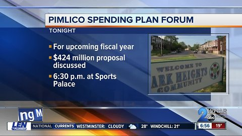 Pimlico community will draft spending plan to help Park Heights area