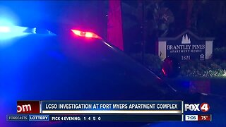 Deputies conduct overnight investigation at Fort Myers apartment complex