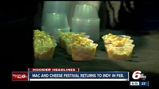 Mac & Cheese festival to return to Indianapolis in February - Video