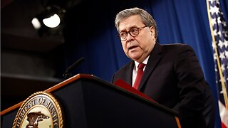 William Barr Explains Why Trump Didn't Obstruct Justice