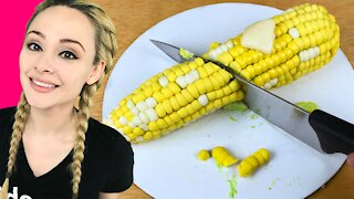 How to make an incredibly realistic 'corn on the cob' cake