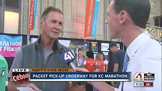 Packet pick-up underway for KC Marathon - Video