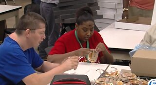 Non-profit gives work to those with special needs