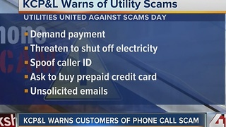 KCP&L warns customers of phone call scam - Video