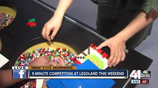 5-minute competition held this weekend at LEGOLAND - Video