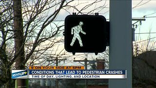 How can data help prevent more pedestrian crashes?