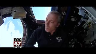 Michigan astronaut releases music video from space - Video
