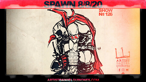 More Spawn art without picking up pen | Art, comic-book inspiration