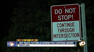 New traffic pattern confusing drivers in Eastlake