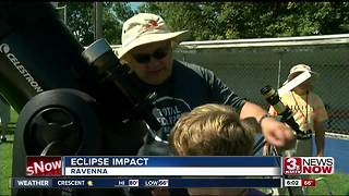 Eclipse impact 2017: Ravenna - Video