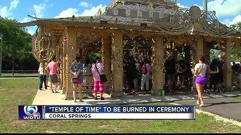 Temple memorial to Parkland shooting victims to be burned