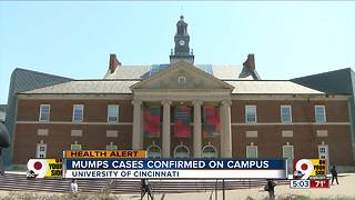 UC official: Cases of mumps reported on campus - Video