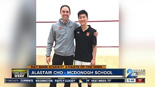 Student Athlete of the Week - Alastair Cho
