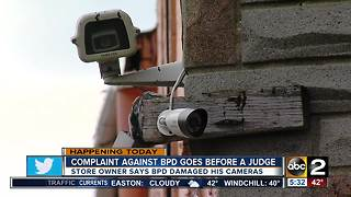 Complaint about Baltimore Police goes before a judge - Video