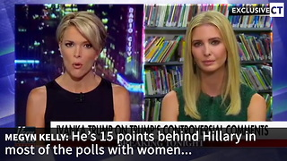 "Megyn Kelly Tries ""Gotcha"" Question About Trump... Ivanka Gives Perfect Response - Video"