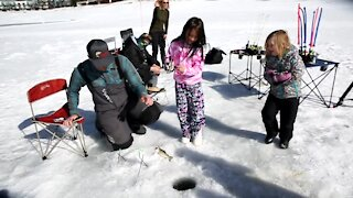 Discover Colorado: Not into snowshoeing or skiing? Try ice fishing instead
